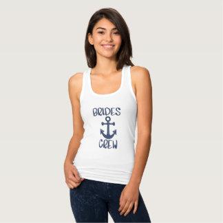 Camisa náutica da festa de solteira