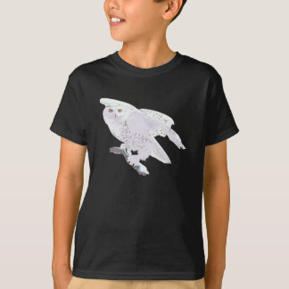 Camisa nevado bonita da coruja
