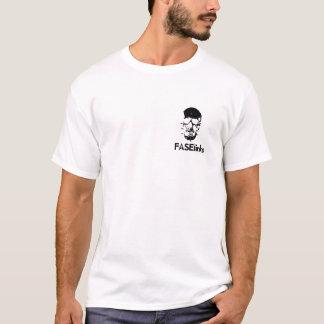 camisa nova do logotipo t do crânio
