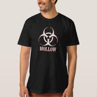 Camisa oca com símbolo do biohazard