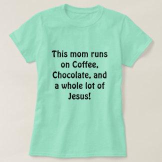 Camisa ocupada da mamã