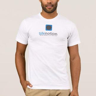 Camisa oficial do logotipo de LifeNotion