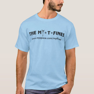 Camisa oficial do logotipo de MY*T*FINES (sem