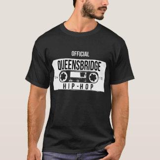 Camisa oficial do rap do hip-hop de Queensbridge