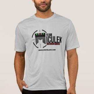 Camisa oficial do tiro do concorrente de Miculek