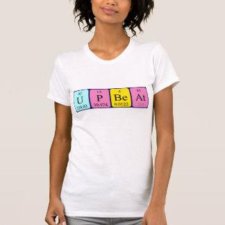Camisa optimista da frase da mesa periódica camiseta