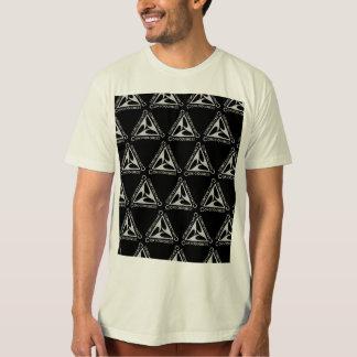 Camisa ORGÂNICA de Consiouness T do triângulo de
