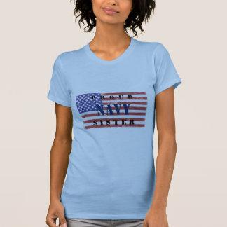 Camisa orgulhosa da irmã do marinho tshirts