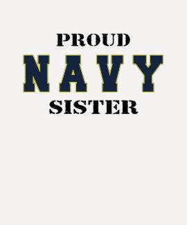Camisa orgulhosa da irmã do marinho tshirt