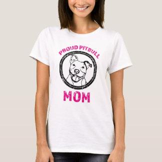 Camisa orgulhosa da mamã de Pitbull