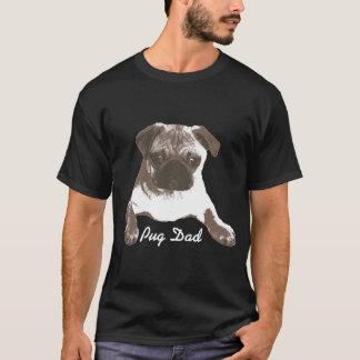 Camisa orgulhosa elegante do pai do Pug