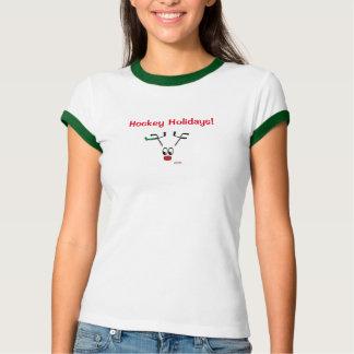 Camisa original do design T da rena dos feriados