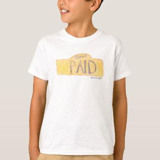 camisa paga do cristo cristão dos meninos