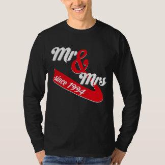 Camisa para a esposa do marido desde 1994.
