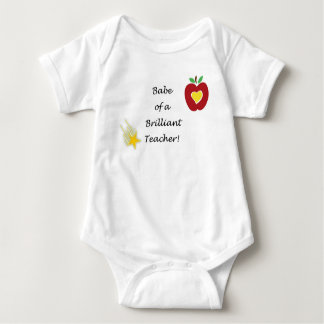Camisa para o bebê do professor