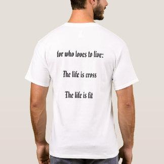 Camisa para quem gosta de cuidar do corpo.