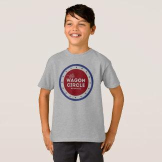 Camisa patriótica do WC dos miúdos