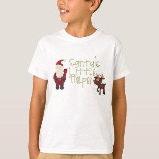 Camisa pequena do ajudante do papai noel