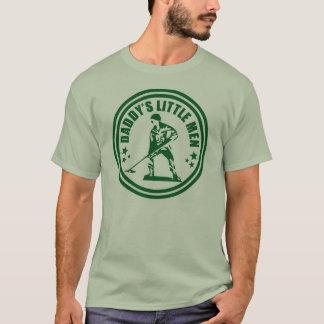 Camisa pequena do blogue dos homens do pai