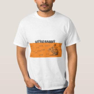 Camisa pequena do coelho camisetas