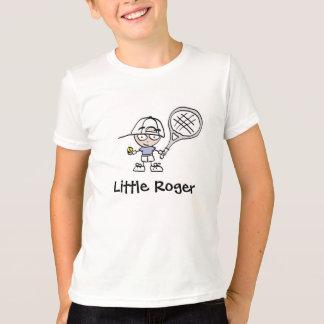 Camisa pequena dos desenhos animados T do tênis de