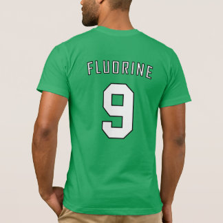 Camisa periódica da equipe: Flúor