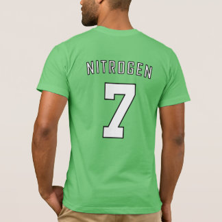 Camisa periódica da equipe: Nitrogênio