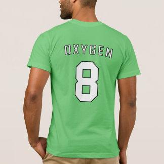 Camisa periódica da equipe: Oxigênio