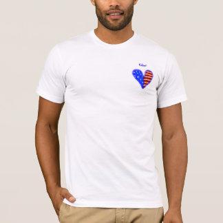 Camisa personalizada coração do arrumador da