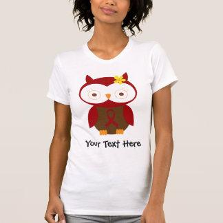 Camisa personalizada da coruja T da fita de