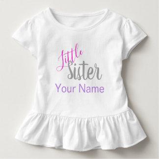 Camisa personalizada da irmã mais nova