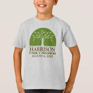 Camisa personalizada da reunião de família