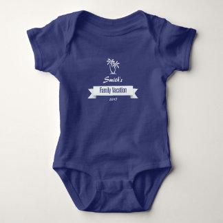 Camisa personalizada das férias em família