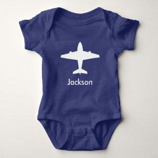 Camisa personalizada do avião para miúdos