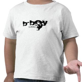 """Camisa personalizada do b-menino. """"adicione seu camisetas"""