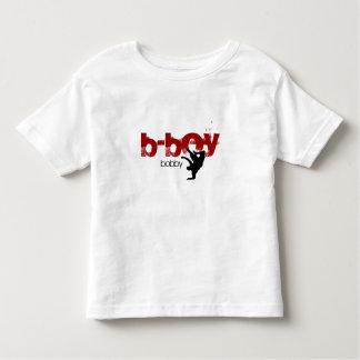"Camisa personalizada do b-menino. ""adicione seu tshirt"
