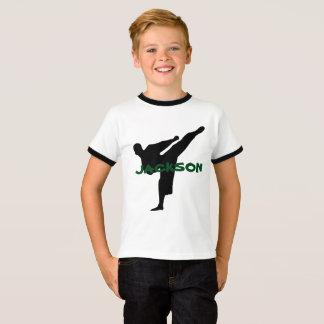 Camisa personalizada do karaté
