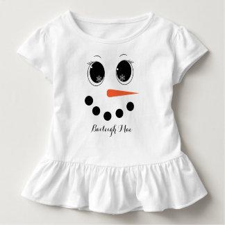 Camisa personalizada do plissado da criança de