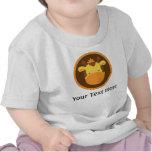 Camisa personalizada girafa do bebê T Tshirt