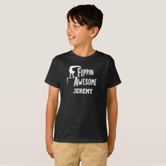 Camisa personalizada impressionante da ginástica