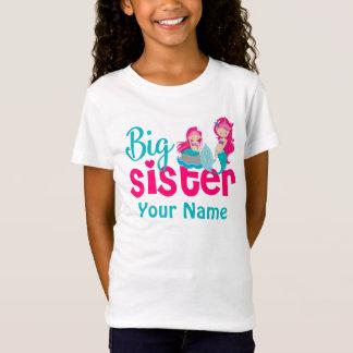 Camisa personalizada sereia da irmã mais velha