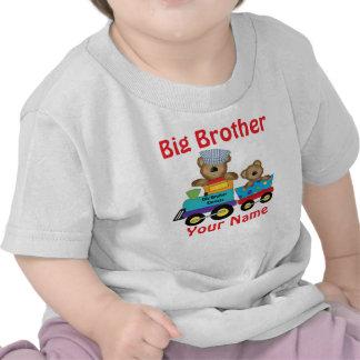 Camisa personalizada trem do urso do big brother t-shirt