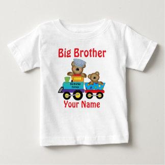 Camisa personalizada trem do urso do big brother t-shirts