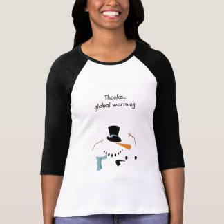 Camisa pessimista do BONECO DE NEVE
