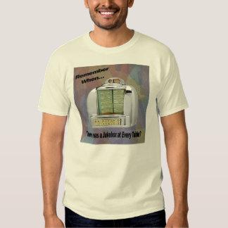 Camisa pessoal do jukebox camiseta