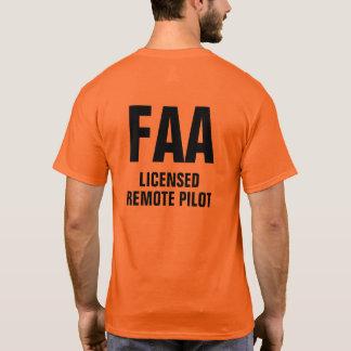 Camisa piloto remota licenciada FAA