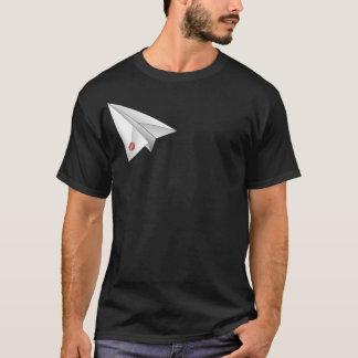 Camisa plana de papel