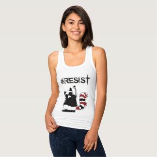 "Camisa política de Raccon do ""Anti-Trunfo"" do"