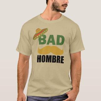Camisa política engraçada má de México do trunfo