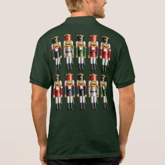 Camisa Polo 10 soldados de brinquedo do Nutcracker e um rei do